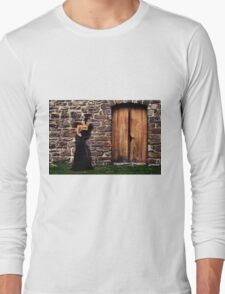 Fashion Model Fine Art Print Long Sleeve T-Shirt
