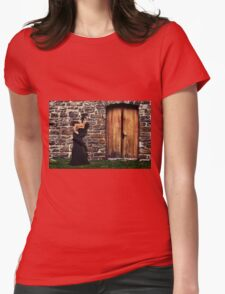 Fashion Model Fine Art Print Womens Fitted T-Shirt