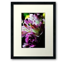 Spring Pink Carnation bouquet Framed Print