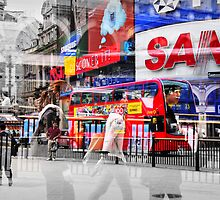 Piccadilly Circus 2 by Zuzana D Photography