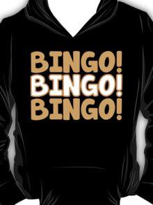 BINGO! BINGO! BINGO! in orange T-Shirt