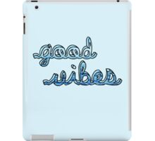 Good Vibes Ocean iPad Case/Skin