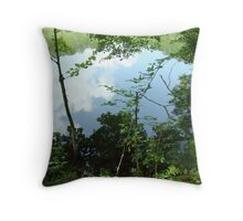 Sky In The Water Or Water In The Sky? Throw Pillow