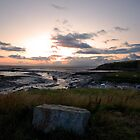 Sunset at Low Tide by Nigel Bangert