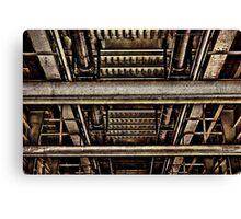 Bridge Construction Fine Art Print Canvas Print