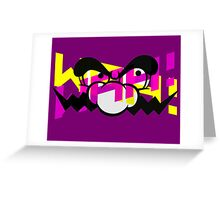 WAH Wario Greeting Card