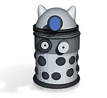 dalek render by YodaWars