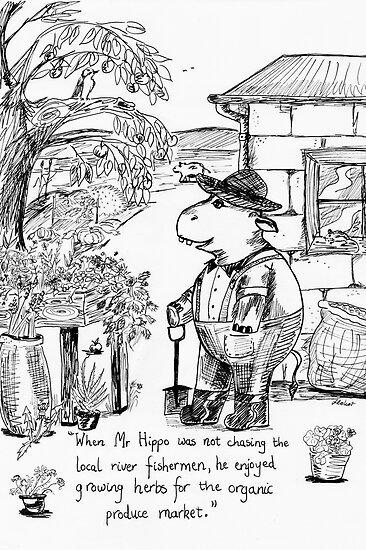 Mr Hippo's Herbarium by Fiona Lokot