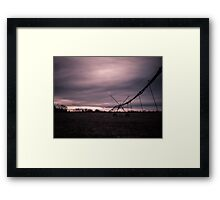 Fields at Sunrise Framed Print