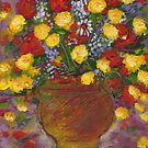 A vase of Flowers1 by catherine walker