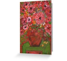 Flowers in a pot 2 Greeting Card