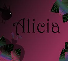 Leave Alicia  by stumbelina