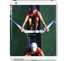 Aerial View of Rowers iPad Case/Skin