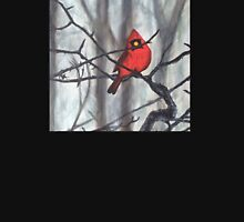 Red Cardinal in Winter Unisex T-Shirt
