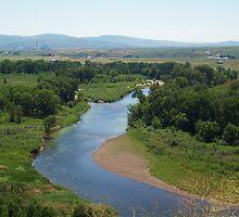 River through Hayden by Camilla Wall