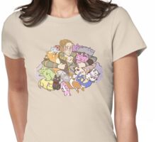 Feline Plushmaster Anders Womens Fitted T-Shirt