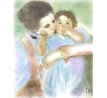 Mother and Child / after mary cassatt  Photographic Print