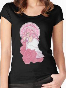 Rose Quartz Nouveau Women's Fitted Scoop T-Shirt