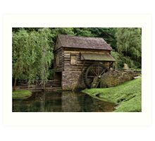 The Mill At Cuttalossa Farm Art Print