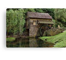 The Mill At Cuttalossa Farm Canvas Print