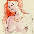 Red Hair by Gary  Crandall