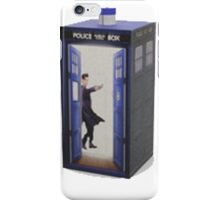 dr and the tardis iPhone Case/Skin