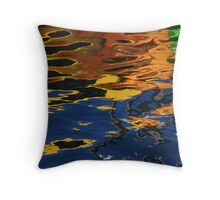 Watery Reflection Throw Pillow