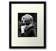 Jimmy Dean Where Are You???   Framed Print