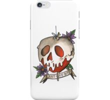 Just One Bite - Poison Apple Tattoo Flash iPhone Case/Skin