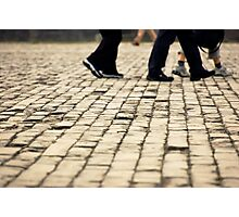 Walking Photographic Print