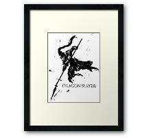 Dragonslayer Ornstein Framed Print