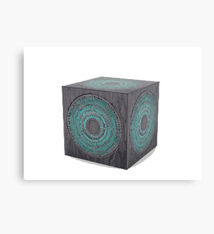 3d model of pandorica Canvas Print