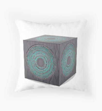 3d model of pandorica Throw Pillow