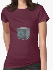3d model of pandorica Womens Fitted T-Shirt