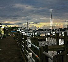 Front Street Dock - Georgetown, S.C. by photosan