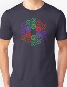 Dragon Curve 3 (no black center) T-Shirt
