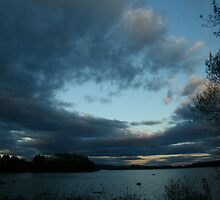 clouds on horizon by jason kale