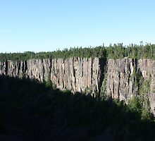 Ouimet Canyon by Alyce Taylor