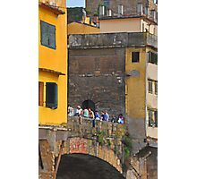 A Bridge across the Arno Photographic Print
