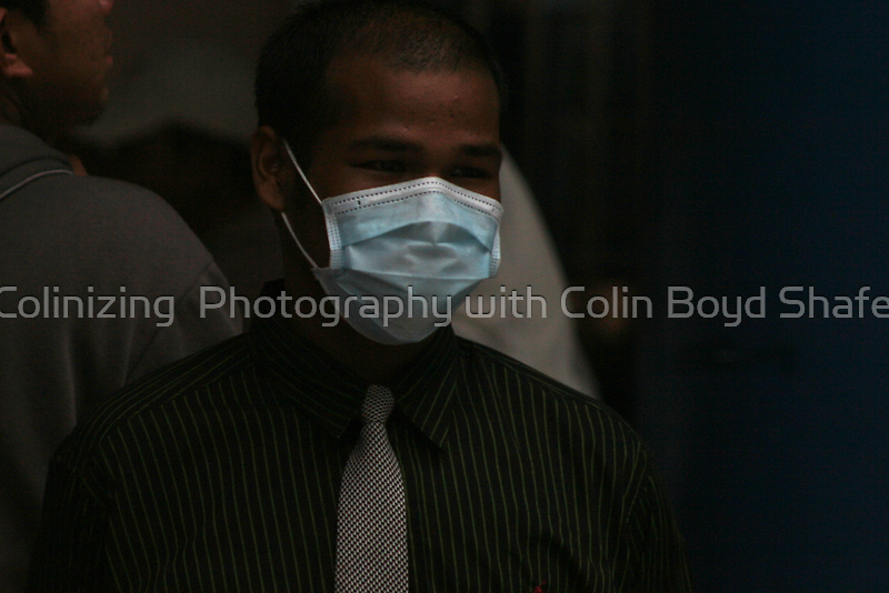 H1n1 in a tie by Colinizing  Photography with Colin Boyd Shafer