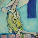 Retro Lady  by christine purtle