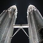 Petronas Twin Towers I by Farah McLennan