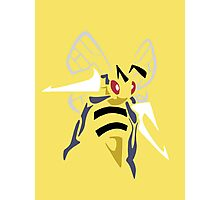 Beedrill (Tribal) Photographic Print