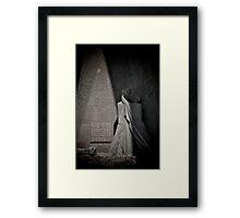 Kiss of the Betrayer, La Sagrada Familia by Gaudi, Barcelona Framed Print