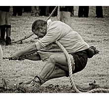 The Anchor Man, Tug of War, New Ross, County Wexford, Ireland Photographic Print