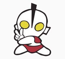 Ultrapeace Ultraman Funny by mitraini