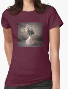 Daisies in a Vase  #2 Womens Fitted T-Shirt