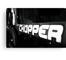 Chopper 6 Canvas Print