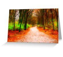 Tiergarten Path Greeting Card