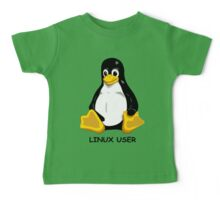 Linux User Baby Tee